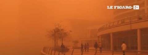 Dubaï touché par une impressionnante tempête de sable