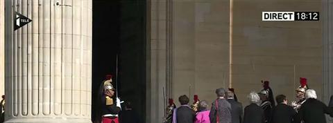 Quatre résistants rentrent au Panthéon au son du Chant des partisans