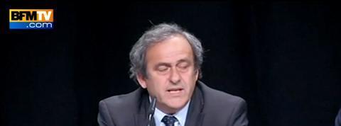 Platini se dit dépité et écœuré par le scandale de la Fifa, trop c'est trop
