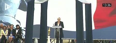 Marine Le Pen appelle à