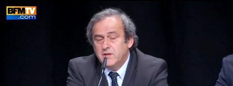 Platini explique avoir demandé à Blatter de démissionner de la Fifa