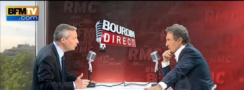 Bruno Le Maire prêt à envisager le plafonnement des indemnités chômage