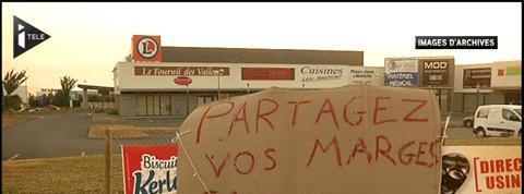Bretagne : les éleveurs expriment leur colère