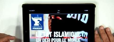 Dans les coulisses de «Figaro Grands Formats», nouveau magazine sur tablette