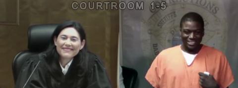 Une juge américaine face à une connaissance pour la deuxième fois