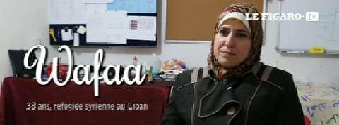 Le récit poignant de Wafaa, réfugiée syrienne au Liban