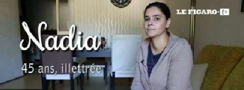Nadia, 45 ans, illettrée :