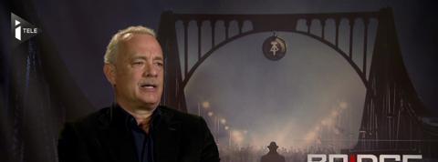 Tom Hanks, héros du nouveau film de Spielberg