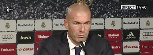 Zidane : «Je suis dans la meilleure équipe du monde et je veux gagner des titres»