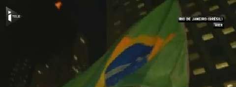 Les Brésiliens se mobilisent à la veille du vote qui décidera du sort de leur présidente