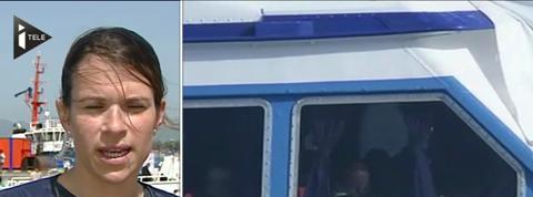 Les premiers migrants arrivent à Dikili en Turquie