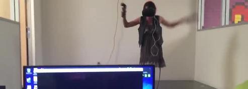 Tuer des zombies en réalité virtuelle est terrifiant à voir