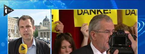 Le Vert Alexander Van der Bellen élu président d'Autriche avec 50,3% des voix