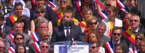 Hommage à Jeanne d'Arc: Emmanuel Macron se démarque à nouveau