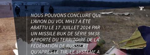 MH17: l'enquête pénale internationale compromet Moscou