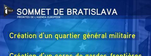 Après le Brexit, l'Union européenne se fixe une feuille de route au sommet de Bratislava