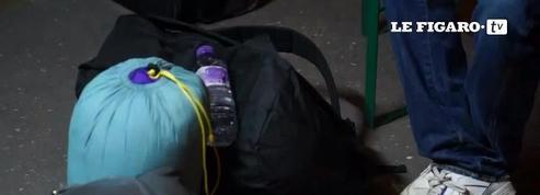 Calais : deuxième journée d'évacuation de la