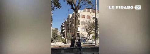 Nos images exclusives d'Alep, dévastée par les combats