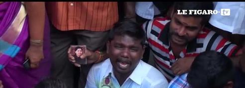 Inde : deuil dans le Tamil Nadu après la mort d'une figure politique idolâtrée