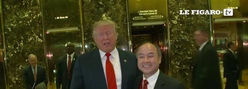 Trump affirme que Softbank est d'accord pour investir 50 milliards aux Etats-Unis