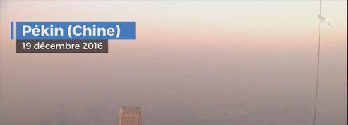 Pollution : la Chine suffoque depuis 4 jours