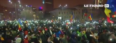 Roumanie : septième nuit de manifestations pour la démission du gouvernement