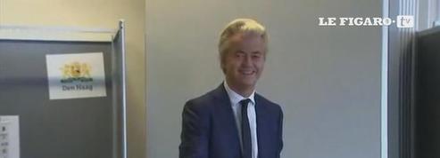 Geert Wilders a voté aux élections législatives néerlandaises