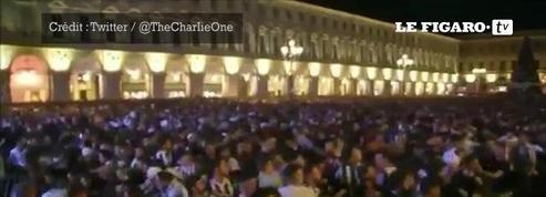 Un mouvement de foule fait 1000 blessés à Turin