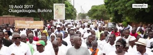 Au Burkina, une marche silencieuse contre la