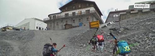 La canicule fait fondre les Alpes italiennes