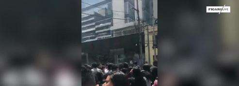 Mexico et sa région secouées par un séisme de magnitude 7,1