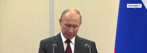 En Syrie, Poutine plaide avec Erdogan «le dialogue sous la supervision de l'ONU»