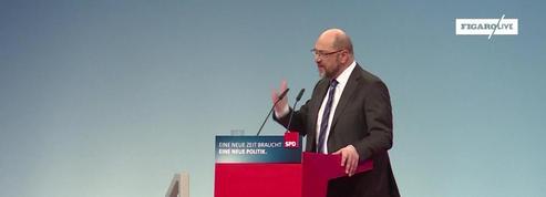 Coalition en Allemagne : Schulz contre des nouvelles élections