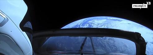 La voiture d'Elon Musk pourrait revenir sur Terre comme un boomerang