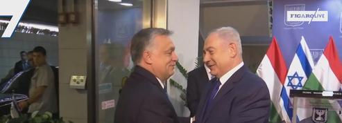 Israël: Netanyahu salue les mots d'Orban contre l'antisémitisme