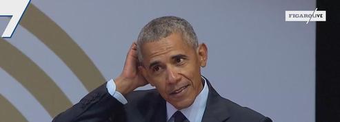 Barack Obama salue la diversité de l'équipe de France