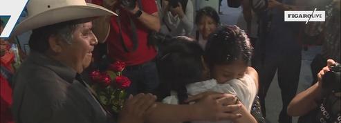 Mexique: des enfants nés aux USA rendent visite à leur famille