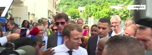 Emmanuel Macron : « Je prends le temps d'aller au contact »