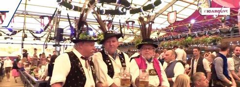 Ouverture de la 185e fête de la bière de Munich