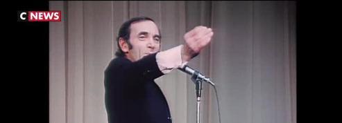 Charles Aznavour : une carrière en haut de l'affiche