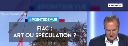 Fiac : art ou spéculation ?