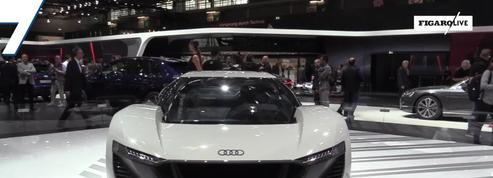 Salon de l'auto : la Audi PB18 e-Tron