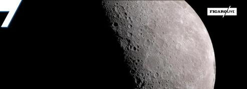 Ces images fabuleuses de la lune capturées par la Nasa