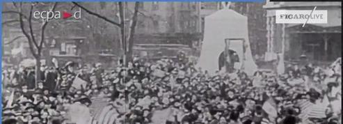 11 novembre 1918 : Liesse populaire aux États-Unis