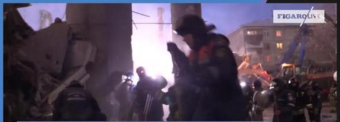Explosion de gaz en Russie : les secours toujours mobilisés