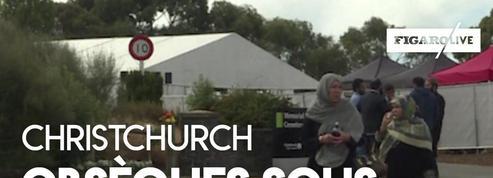 Christchurch : les premières obsèques sous haute sécurité