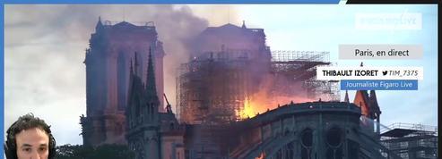 REPLAY : la soirée de l'incendie à Notre-Dame de Paris