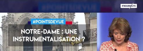 Notre-Dame : une instrumentalisation par Emmanuel Macron ?