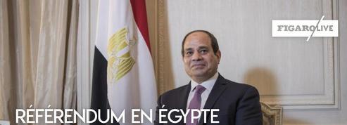 Egypte : un référendum constitutionnel pour accroître les pouvoirs du Président