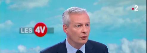 Le Maire annonce «une baisse moyenne de l'impôt sur le revenu de l'ordre de 350€» pour 12 millions de foyers